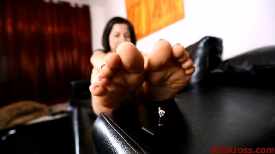 Helpless at the Toes of Her Divinity