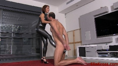 Worship My Latex while I Hurt You - Punishing a Stupid Robber (Part Four)