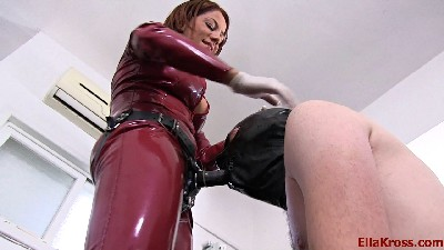 Two Mistresses Butt-Fuck a Slave