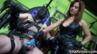 Shocking Nipple and Cock and Ball Torture!