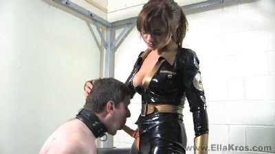 Making My Slave Do Ass to Mouth -Part 1