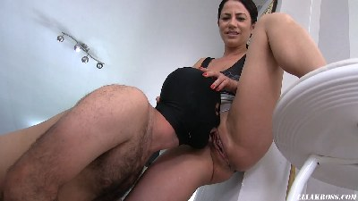 Pissing on My Floor and Having My Slave Clean It! (Including my Squirting Orgasm)