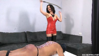 Brutally Whipping My Slave's Bare Skin!