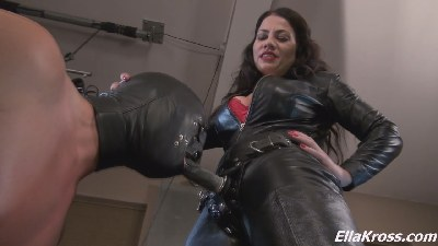 You`re Going to Show Off Your Slut Skills  - Making a Slave Suck My Big, Black, Strap-On Cock!