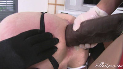 Can My Little Whore Slave Take This MASSIVE Strap-on?(Part1)