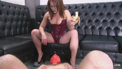 Feeding A Slave My Chewed-Up Banana!