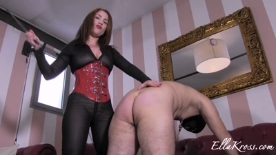 Whipping Slave for Having a Small Cock!