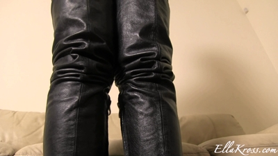 Fuck My Soft Leather Boots!