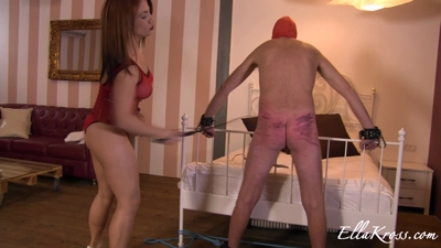 Extreme Ass Punishment with Paddling and Whipping!