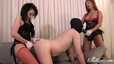 Training Slave to Be a Whore Using Strap-Ons Featuring Anne!