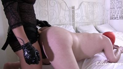 Ramming a Slave's Ass with My Massive Strap-On Cock!