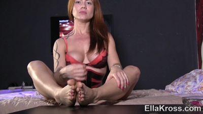 Jerk as You Lick My Dirty, Smelly Feet!