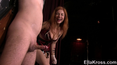 Teasing and Denying, then Ruining Slave's Orgasm!