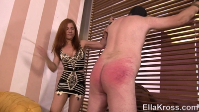 Brutally Whipping My Slave's Bare Ass!