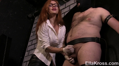 Controlling My Slave's Orgasm by Edging!
