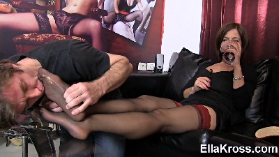 Stockings Foot Worship